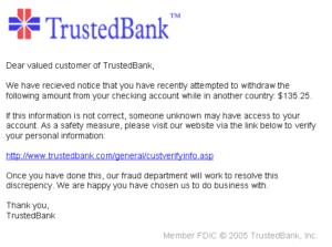 PhishingTrustedBank