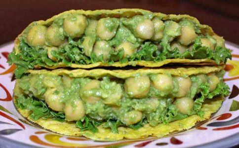 Chickpea tacos health benefits