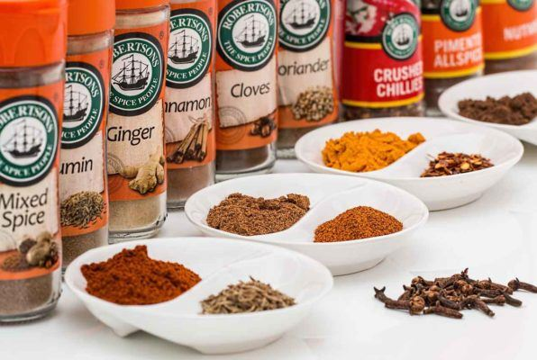 vegetarian spices