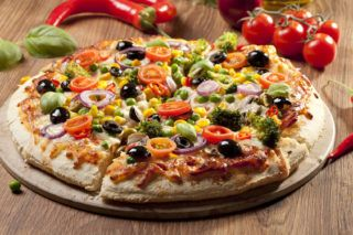 vegetarian diet cancer prevention Veggie Pizza