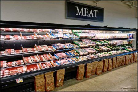 Veggiemeat in the meat aisle