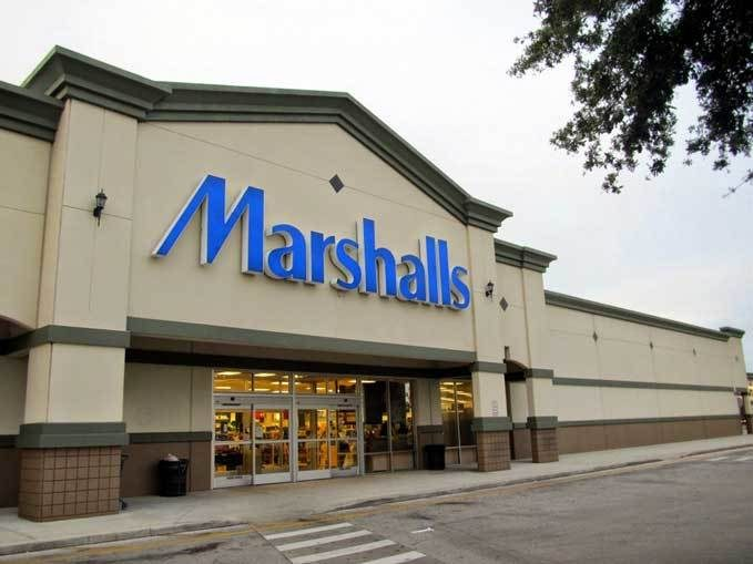 Front Entrance to Marshalls Store